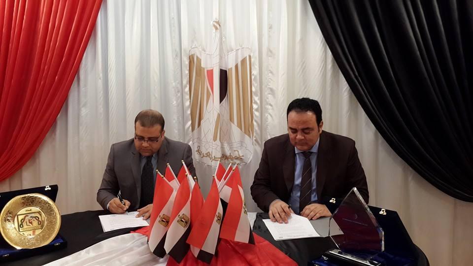 توقيع اتفاقية تعاون بين المكتب الثقافي المصري بابوظبي  وكلية الخوارزمي
